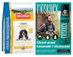 BiOMill SWISS PROFESSIONAL MAXI ADULT Chicken & Rice 12kg+MOSKILEX GRATIS!!