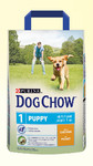 DOG CHOW Puppy Junior Chicken 2,5kg+gratis do wyboru!