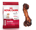 ROYAL CANIN Medium Junior 4kg+PRZYSMAK!!