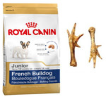 ROYAL CANIN French Bulldog Junior 3kg+PRZYSMAK!!