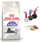 ROYAL CANIN Sterilised +7 1,5kg+ZABAWKA!!