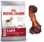 ROYAL CANIN Medium Light 3kg+PRZYSMAK!!