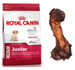 ROYAL CANIN Medium Junior 15 kg+PRZYSMAK!!