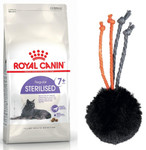 ROYAL CANIN Sterilised +7 10kg+ZABAWKA!!