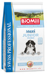 BiOMill SWISS PROFESSIONAL MAXI JUNIOR  Chicken & Rice 12kg