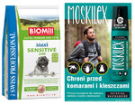BiOMill SWISS PROFESSIONAL MAXI SENSITIVE  Lamb & Rice 12kg+MOSKILEX!!
